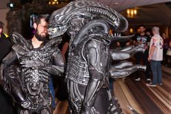 Dragon Con 2017 Alien cosplay