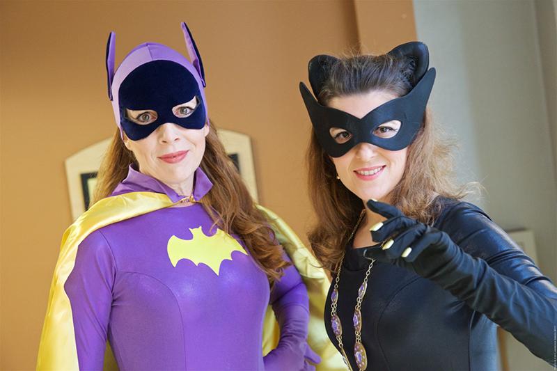 Dragon Con 2017 Batgirl Catwoman cosplay