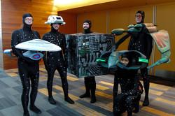 Silicon Valley Comic Con 2017_Star Trek spaceship cosplay_800