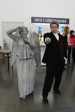 Silicon Valley Comic Con 2017_Doctor Who weeping angel cosplay_800