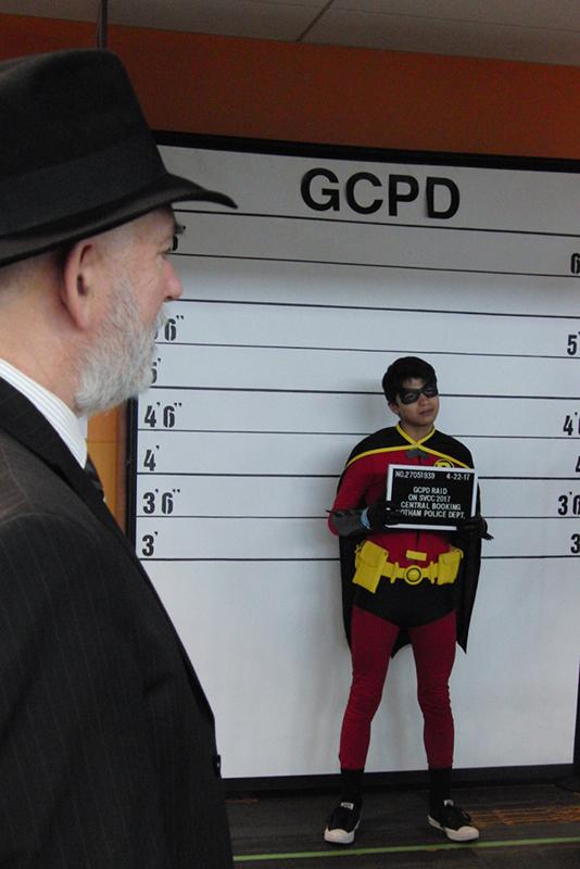 Silicon Valley Comic Con 2017_Gotham City Police Dept. photo op_800
