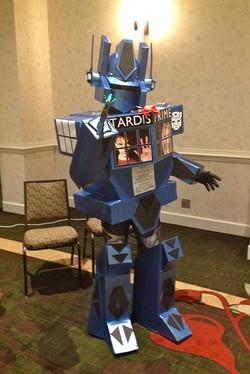 CONsole Room 2015 Transformer TARDIS cos