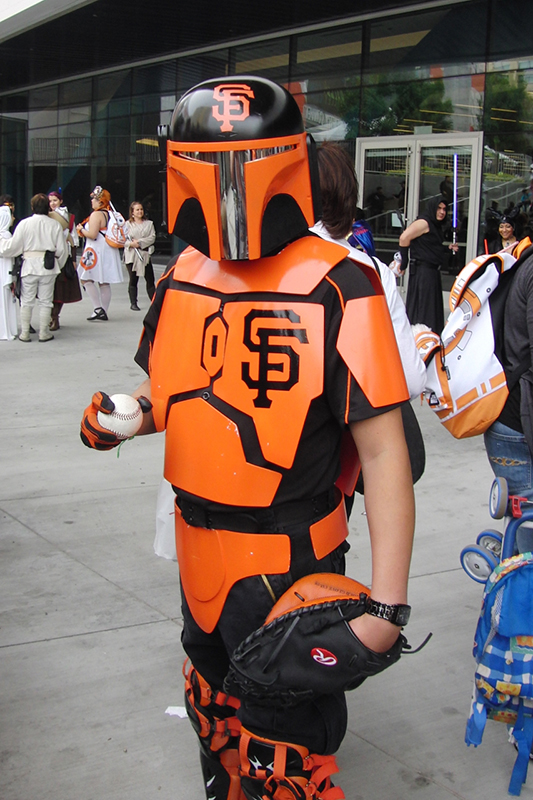 Silicon Valley Comic Con 2017_ San Francisco Giants Mandalorian_800