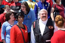Dragon Con 2017 Star Trek costumers