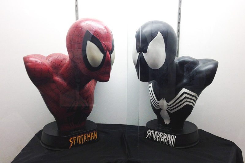Silicon Valley Comic Con 2016 Stan Lee Museum Spidermen busts_800.jpg