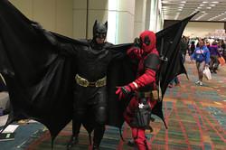 Cedar Rapids Comic Con 2018 Batman meets Deadpool_800