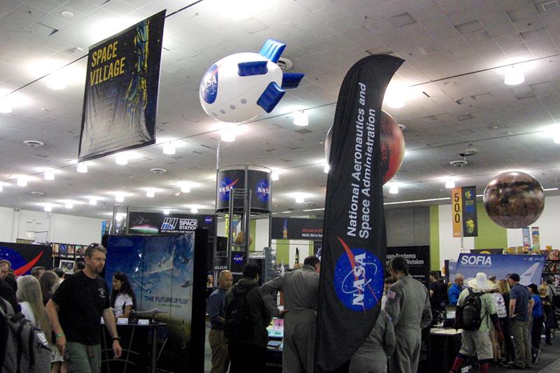 Silicon Valley Comic Con 2017_NASA booth_800