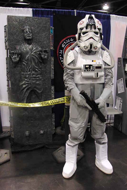 WonderCon 2015 Stormtrooper guarding Han Solo in Carbonite.jpg