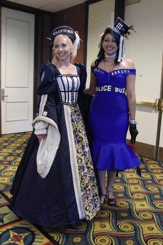 Gallifrey One 2018 Tardis dresses_800