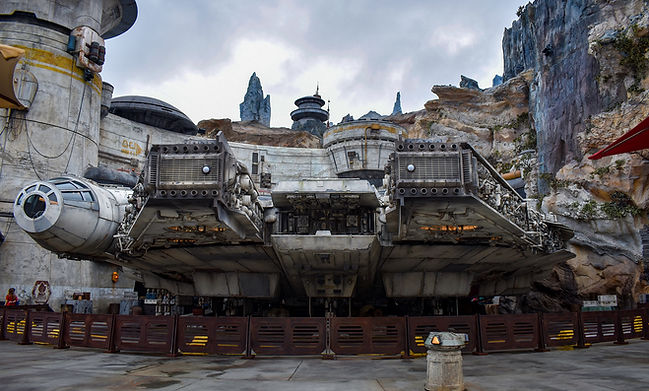 Star Wars Millennium Falcon at Walt Disney World