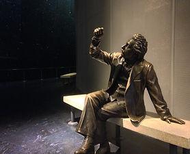 Albert Einstein Sculpture at Griffith Observatory