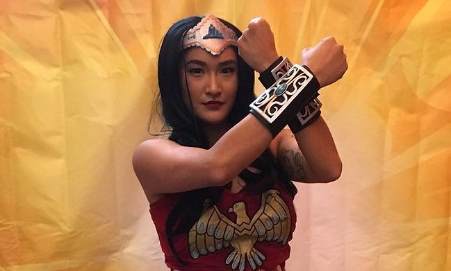 Indigenous Comic Con 2017 Wonder Woman C