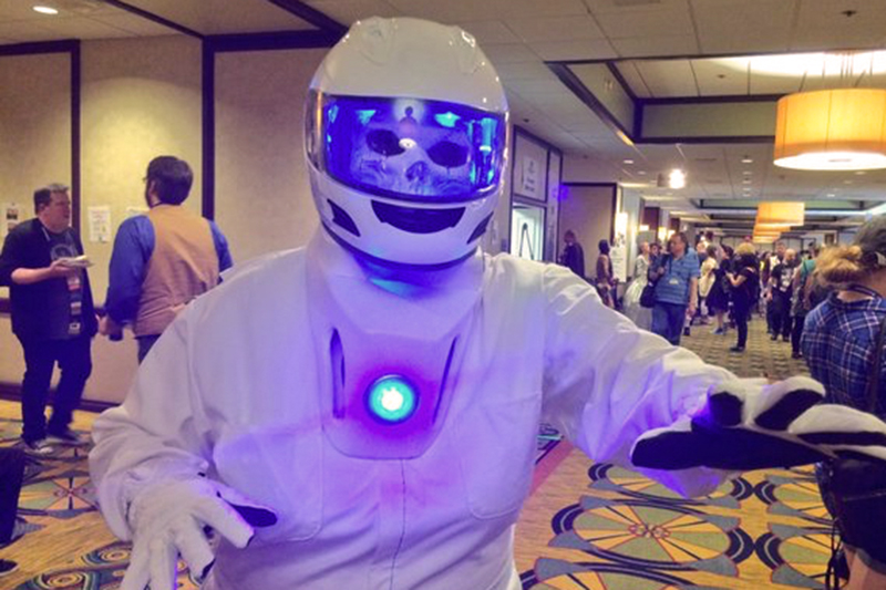 Gallifrey One 2016 Silence in the Library Cosplay.jpg