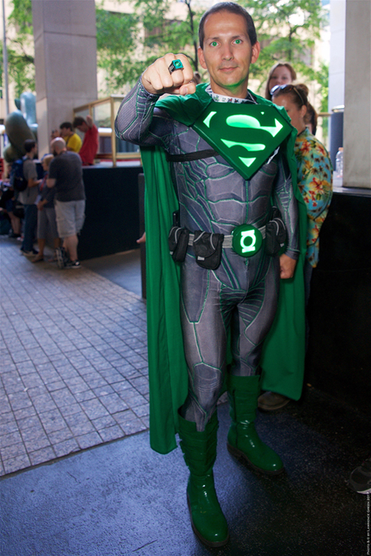 Dragon Con 2017 Superman Green Latern mashup