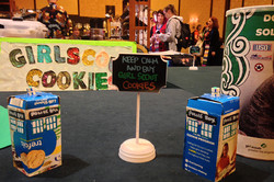 Gallifrey One 2016 Girl Scout Cookie TARDIS.jpg