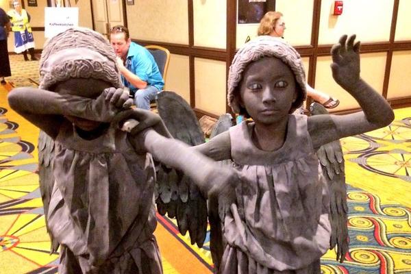 Gallifrey One 2016 Children Weeping Angels Cosplay.jpg