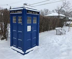Little TARDIS Library