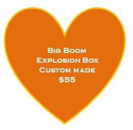 Big Boom Custom Made Explosion Box