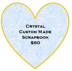 Crystal Custom Made Scrapbook