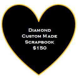 Diamond Custom Made Scrapbook