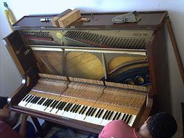 ピアノのインストール