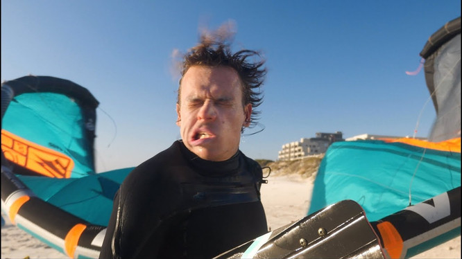Wow it's been windy! KEVVLOG³ #25