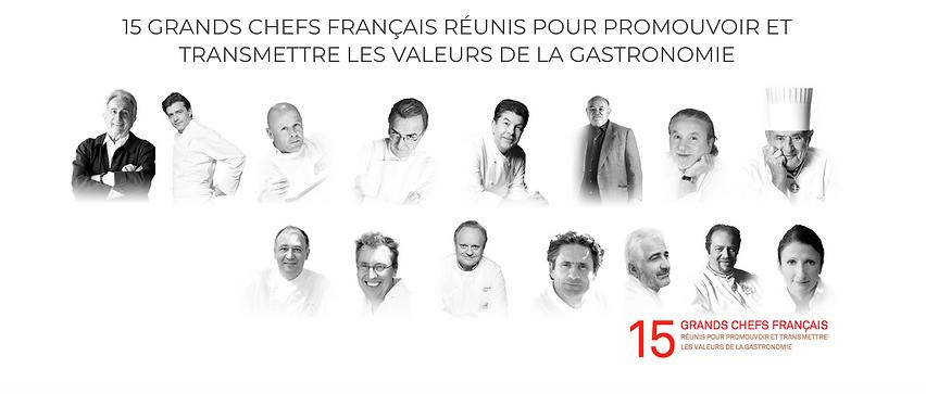 Collège Culinaire de France_Les Fondateu