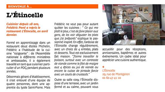 Presse Brunoy Article 2016