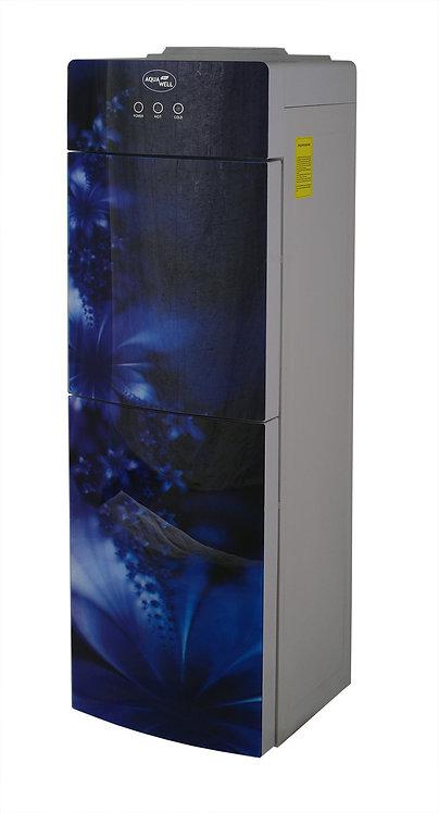 Кулер Aqua Well 2-JX-1 ПК Синий (стекло) с компрессорным охлаждением