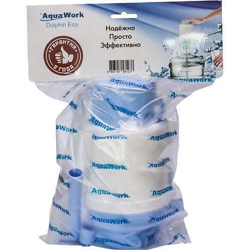 Помпа Дельфин Квик голубая (в пакете)