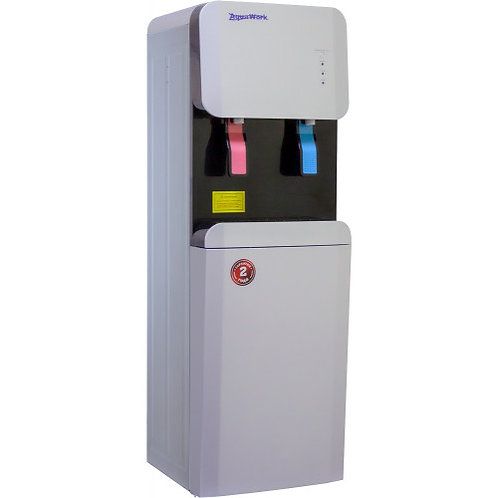 Кулер для воды Aqua Work 105-LDR серебро