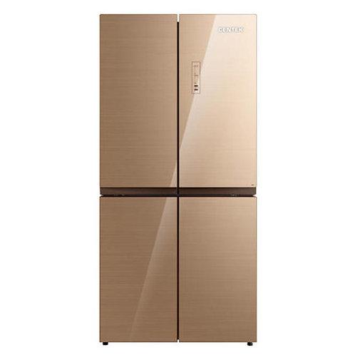 Холодильник Centek CT-1756 Beige Glass Total NF