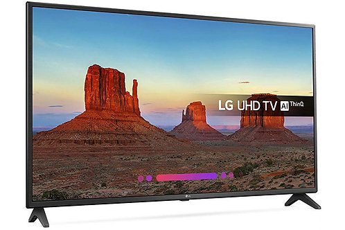 Телевизор LED LG 49UK6200 4K Smart  черный