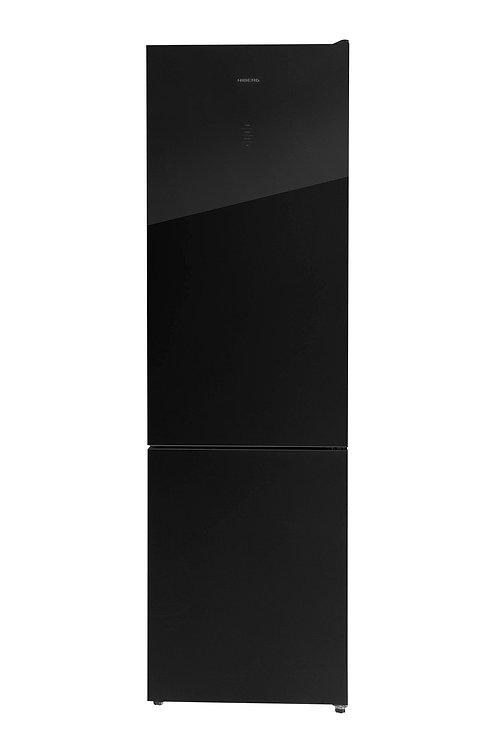 Холодильник HIBERG RFC-400DX NFGB (черное стекло)