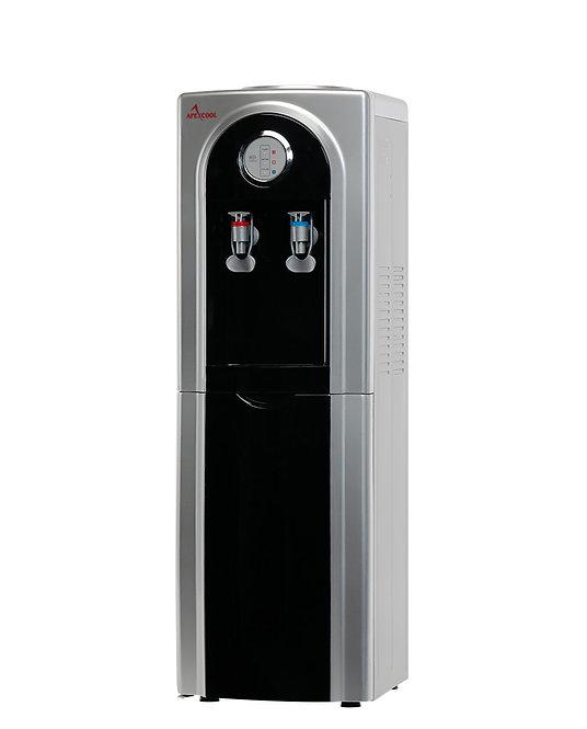 Кулер для воды APEXCOOL 95 LD черный с серебром