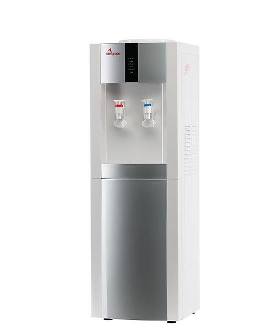 Кулер для воды APEXCOOL 16 LD белый с серебром