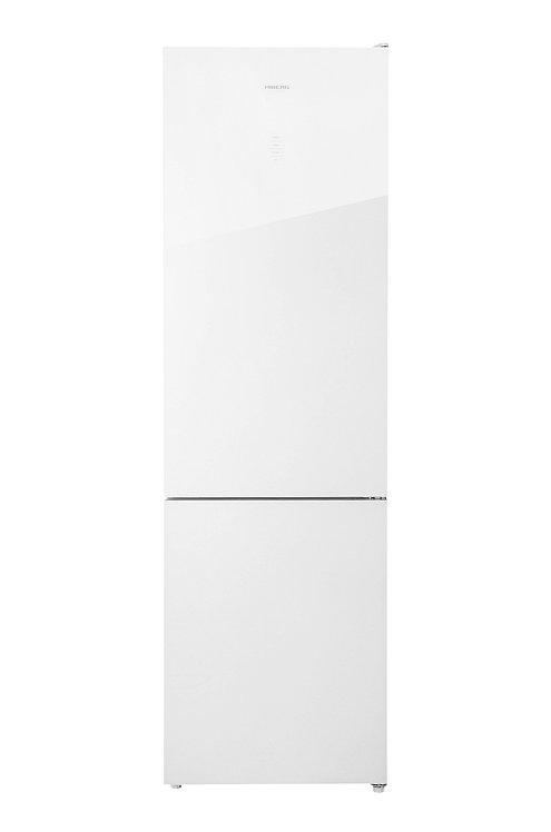 Холодильник HIBERG RFC-400DX NFGW (белое стекло)