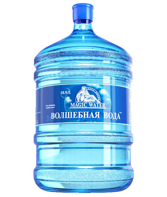 """Питьевая вода """"Волшебная вода"""" 19л"""
