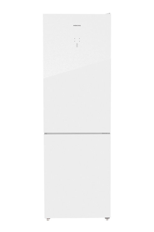 Холодильник HIBERG RFC-375DX NFGW (белое стекло)
