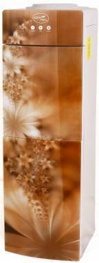Кулер Aqua Well 2-JX-1 ПК Золотой (стекло) с компрессорным охлаждением