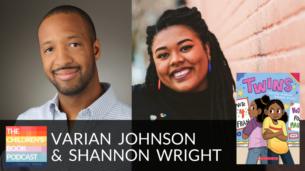 Varian Johnson and Shannon Wright