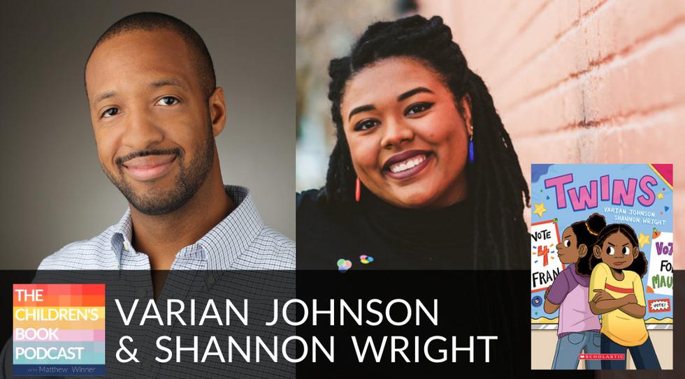 Varian Johnson and Shannon Wright