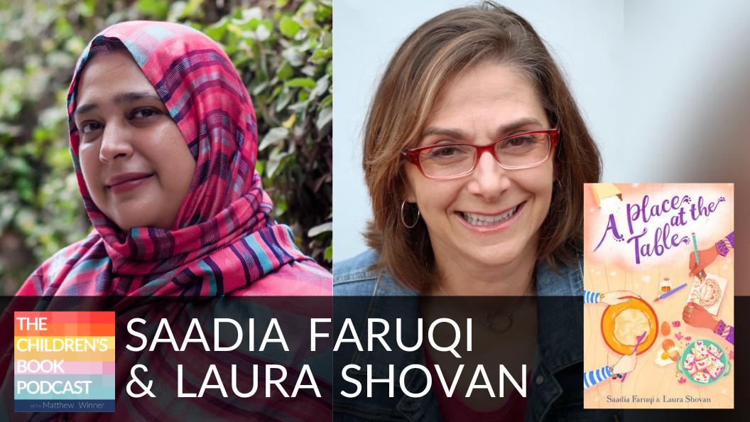 Saadia Faruqi and Laura Shovan