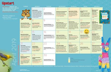 Children S Activity Calendar April 2019 Matthewcwinner