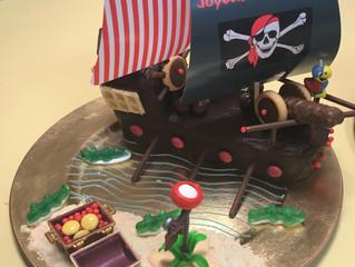 DIY Cuisine : Gâteau d'anniversaire Bateau Pirate