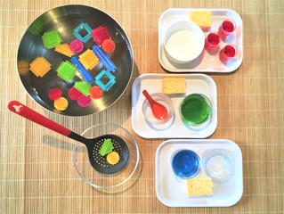 DIY Atelier : Transvasement d'eau, 4 activités pour débuter