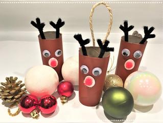 DIY de Noël : Renne Recyclé !