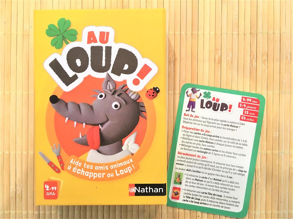 """Testé à la Maison : """"Au Loup !"""" dès 4 ans"""