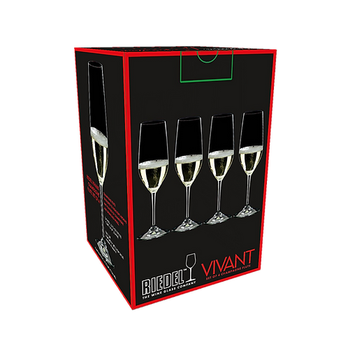 Vivant set 4 copas - Champagne