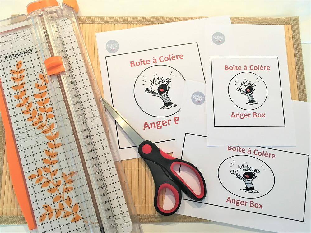 Boîte à Colère, Anger Box : PDF